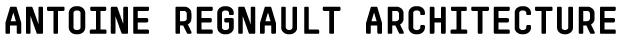 Antoine Regnault Architecture Logo